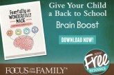 Free Resource for Families Going Back to School