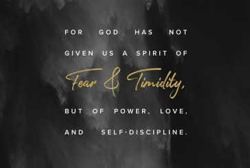 June 22nd – 2 Timothy 1:7